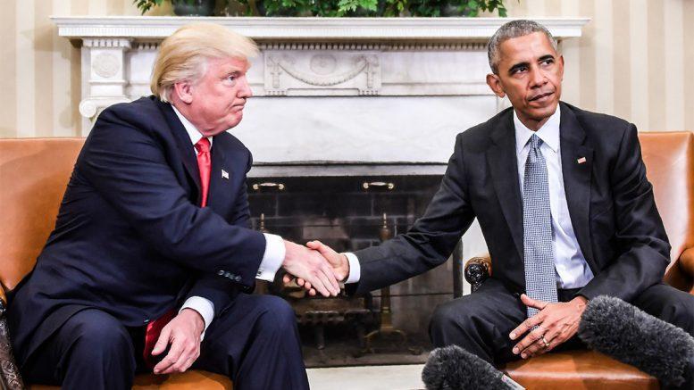 Obama Trump | Al-Sahawat times