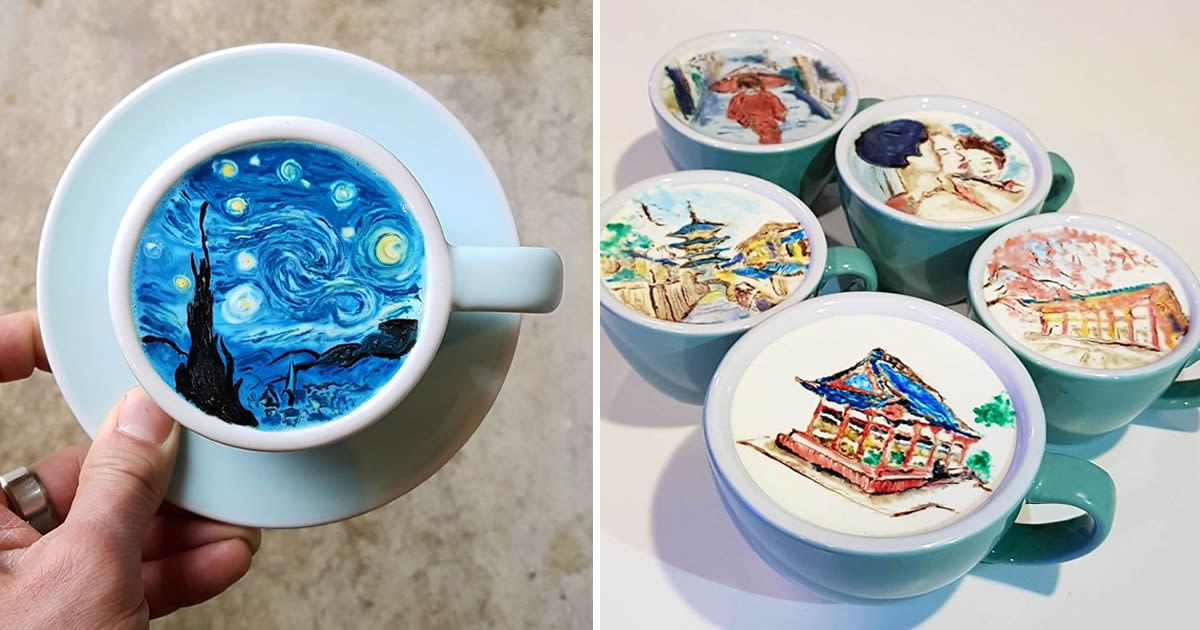 al sahawat times korean coffee art