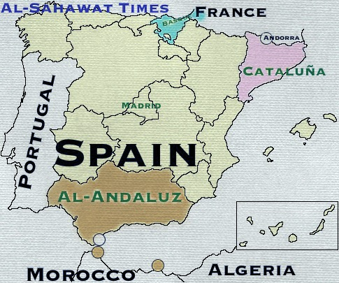 Catalan Map Of Spain.Catalan Crisis Cataluna Wiped Off The Map Al Sahawat Times