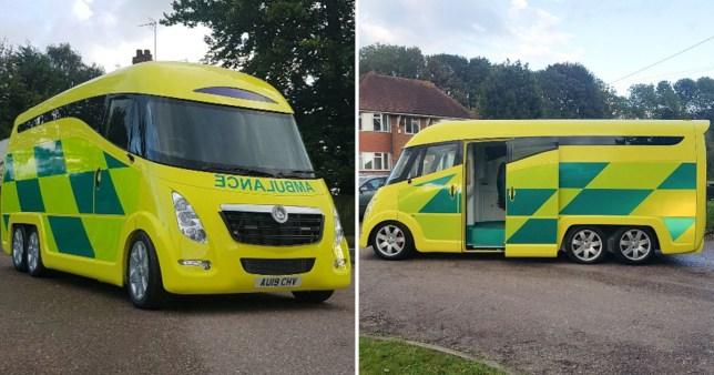 al sahawat times ambulance design
