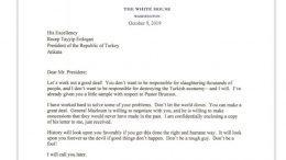 al sahawat times trump letter to erdogan