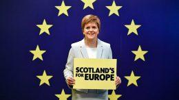 al sahawat times - nicola sturgeon - scotland - EU