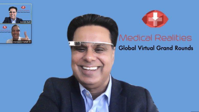 Medical Realities Global Virtual Grand Rounds Shafi Ahmed Al-Sahawat Times