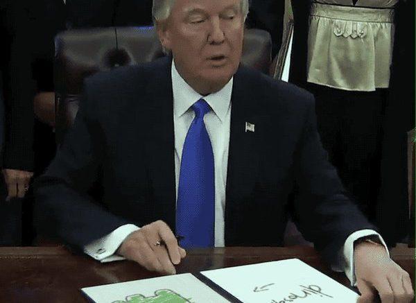 Trump Draws | Al-Sahawat Times