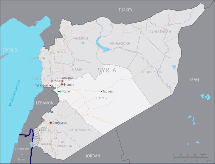 Al-Sahawat Times   Syria Homs