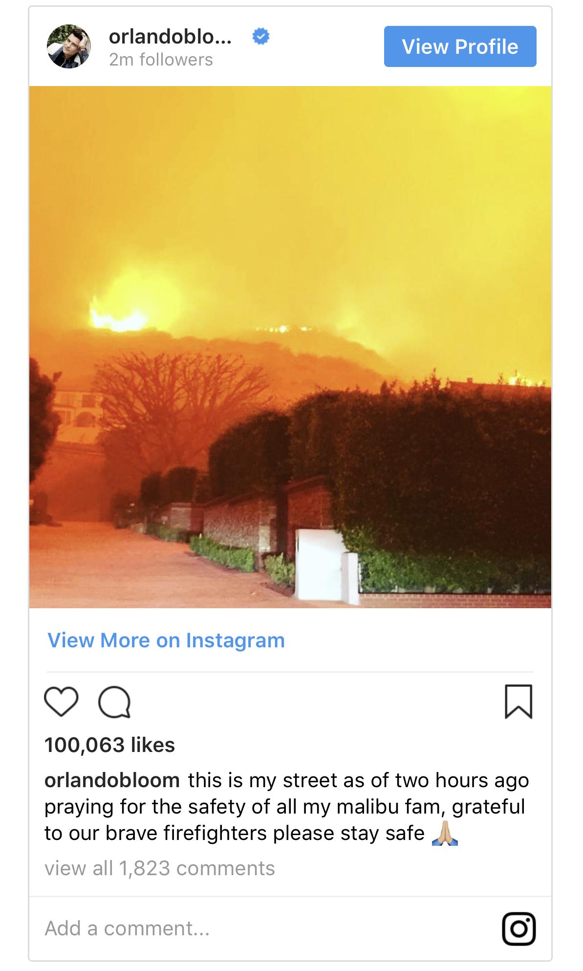 Al-Sahawat Times | California Wildfire - Malibu evacuated