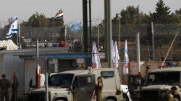 Syria - Palestine Border
