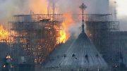 Notre Dame Fire 2019 Paris France