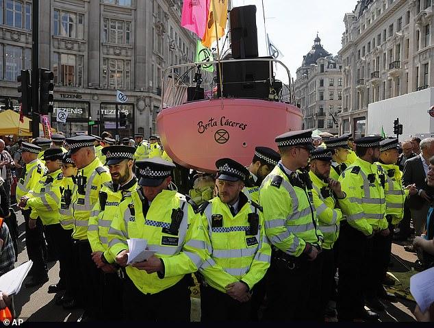 al sahawat times extinction rebellion 2019 protests London