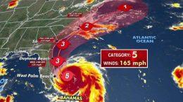 al sahwat times hurricane dorian category 5