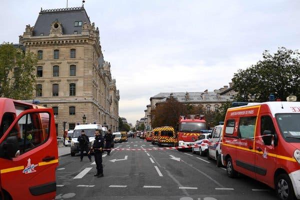 al sahawat times paris police headquarters knife attack
