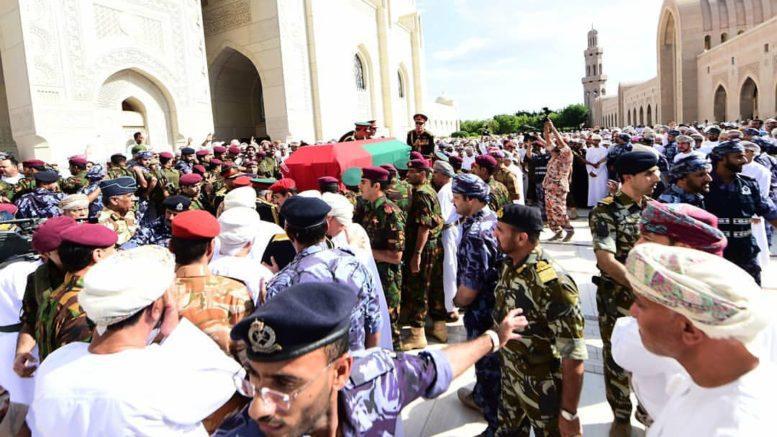 al-sahawat times funeral of Sultan Qaboos bin said bin Timor al said
